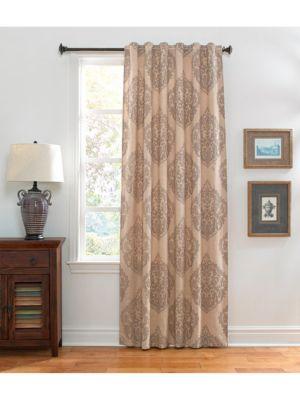 Printed Velvet Linen Curtain