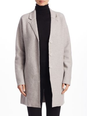 COLLECTION Boiled Wool Car Coat
