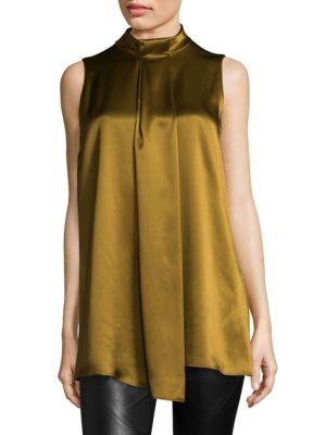 Callie Silk Blouse by Lafayette 148 New York