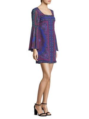 Moondance Silk Shift Dress