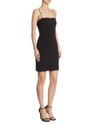 Caressa Solid Sheath Dress