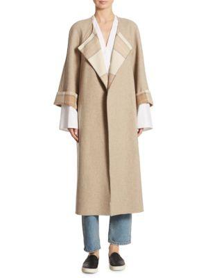 Alrick Reversible Wool Coat