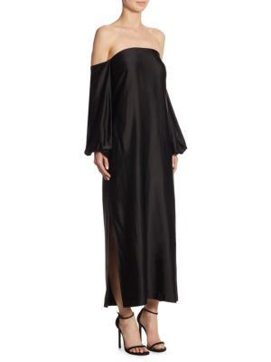 Malta Off-The-Shoulder Maxi Dress