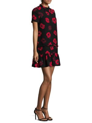 Poppy Ruffle Shift Dress