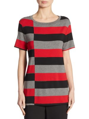Wide Striped Tee