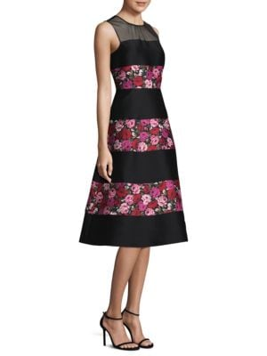 Salon Rose Fit-&-Flare Palma Dress