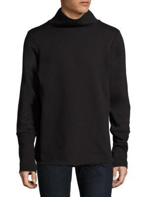 Knitted Mockneck Sweater