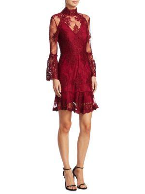 Octavia Laced Mini Dress