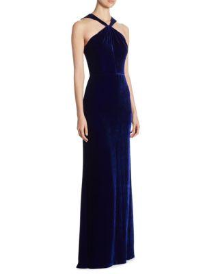 Velvet Bow Gown
