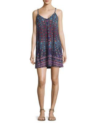 Tashi V-Neck Mini Dress