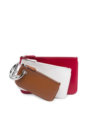 Triplet Leather Pouches