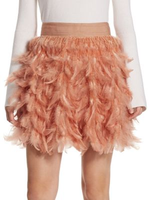 Cina Feather Party Skirt