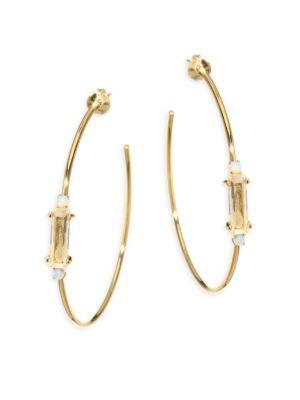 """Leilani Hoop Earrings/2"""""""