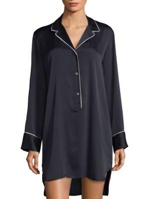 Three-Buttoned Sleepshirt