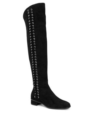 Lucrezia Leather Knee-High Boots
