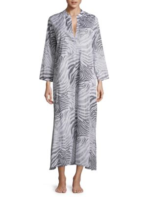 Printed Cotton Gown