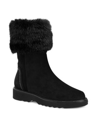 Kelly Faux Fur Boots