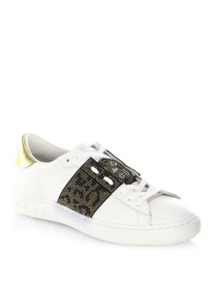 Panthera Leather Sneakers