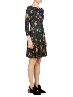 Vivi Floral-Print Dress