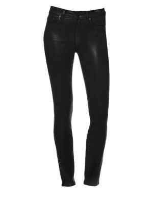 Hoxton Coated Ankle Pants