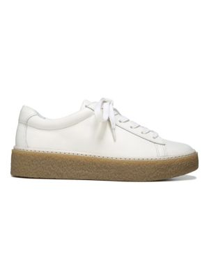 Neela Lace-Up Leather Sneakers
