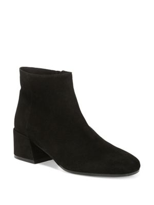 Ostend Pewter Suede Booties