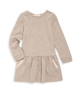Toddler's & Little Girl's Molleton Dress