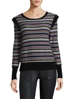 Cais C Multi-Lurex Stripe Sweater