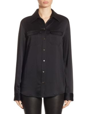 Patrew Button-Front Shirt by The Row