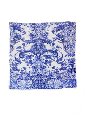 Azuleyos Printed Flat Cotton Sateen Sheet