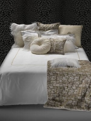 Printed Cotton Sateen Duvet Cover