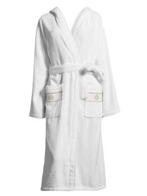 Cotton Hooded Bathrobe