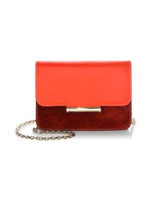 Diane Chain Leather Crossbody Bag