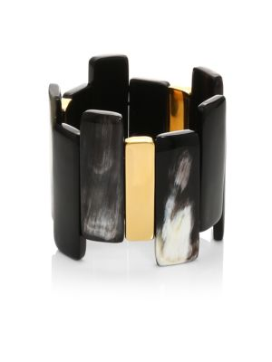 Mixed Horn Stretch Bracelet