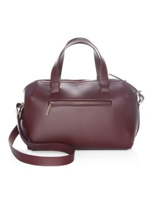Mini Leather Duffle Bag