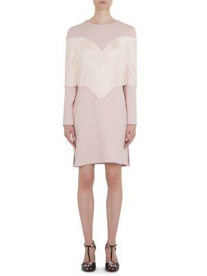 Fringe Sheath Dress
