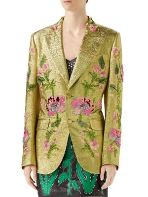 Lurex Embroidered Jacket