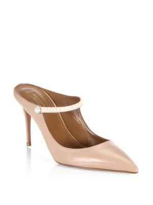 Nolita Leather Stiletto Mules
