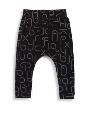 Baby's, Toddler's & Little Boy's Cotton Drop Crotch Pants