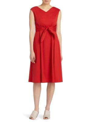 Ximena Self-Tie Dress