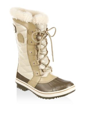 Tivolli III Faux Fur and Leather Boots