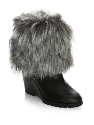 Parkcity Faux Fur Leather Boots