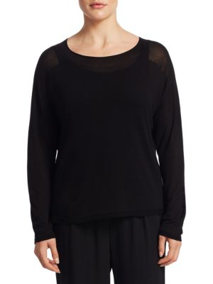 Funnel Neck Top by Eileen Fisher, Plus Size
