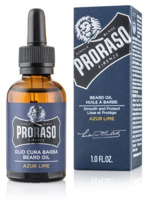 PRORASO Single Blade Collection Beard Oil/1 fl. oz.
