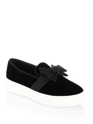 Val Velvet Sneakers