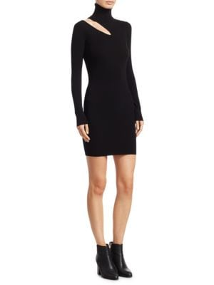 West Long Sleeve Knit Dress