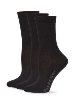 FALKE Soft Socks in Black