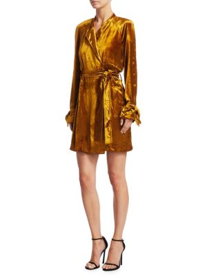 Kendall Belted Wrap Dress