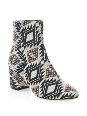 Luppe Round Toe Booties