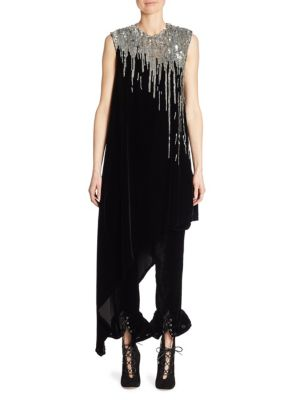 Velvet Sequin Tunic